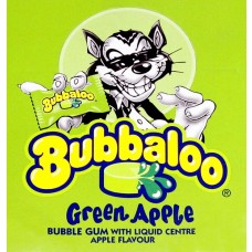 Bubbaloo Green Apple Gum, 1 Stück