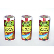 Cajun Seasoning, 80 g, 3 Dosen