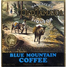 "Sangster's Etikett ""Blue Mountain Coffee"""