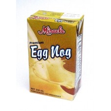 08. Egg Nog, Premium Flavoured Milk Drink, 240 ml