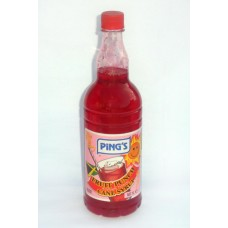 12b. Tropical Fruit Punch Syrup - Fruchtpunschsirup, Ping's, 1 L