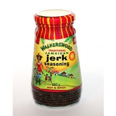 01. WALKERSWOOD Traditional Jerk Seasoning hot & spicy, 280 g