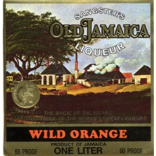 "Sangster's Etikett ""Wild Orange"""