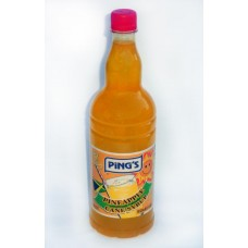 12d. Pineapple Syrup - Ananassirup, Ping's, 1 ltr.
