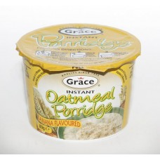 Porridge Oatmeal Banana, Grace, 80 g