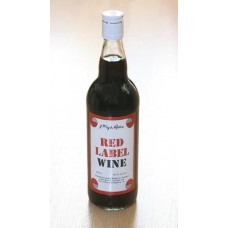10a. Red Label Wine, 13,7% Vol., 750ml