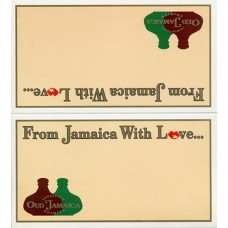 "Sangster's Tischaufsteller ""From Jamaica with love"""