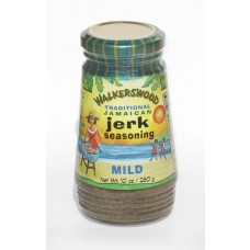 01aa. WALKERSWOOD Traditional Jerk Seasoning mild, 280 g. Reduziert, da MHD Januar 2019