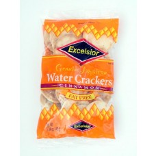 04b. Water Crackers Cinnamon - Zimt, Excelsior, 143 g