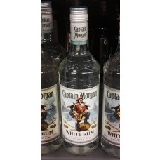 Captain Morgan White Rum, 700 ml, 37,5 % Vol.