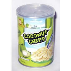 Kokosnuss Chips geröstet - roasted coconut chips, 30 g