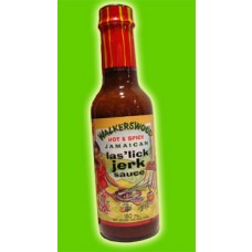 06. WALKERSWOOD Las'lick Jerk Sauce, 170 ml