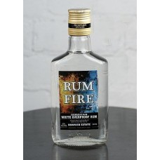 Rum Fire White Overproof Rum, 200 ml, 63% Vol.