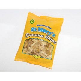 2. St. Mary's Original Jamaican Banana Chips, 30 g