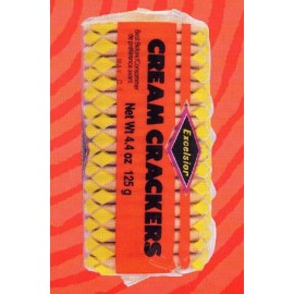 4. Cream Crackers, Excelsior, 125 g