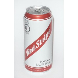 03b. Red Stripe Bier, Dose, 440 ml