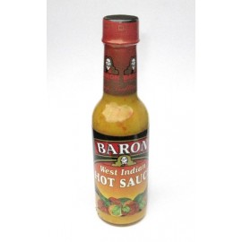 Baron West Indian Hot Sauce, 155 ml