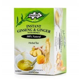 Dalgety Jamaican Ginseng & Ingwer Instant Tee - Ginseng & Ginger Instant Tea, 1 Pack mit 20 Beutel