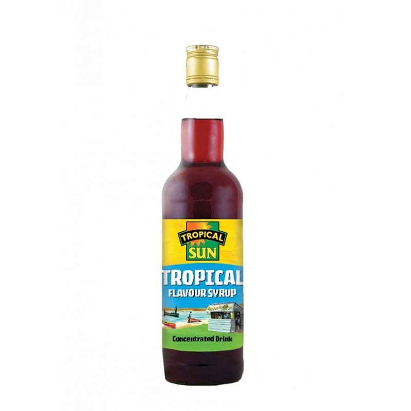 Fruitpunch Sirup von Tropical Sun